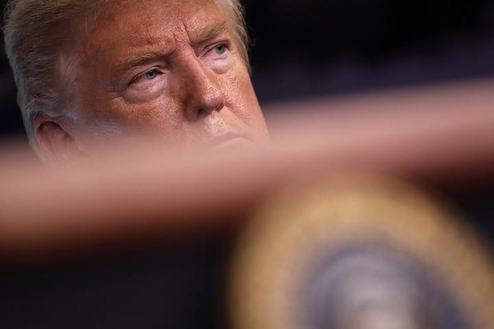 Trump's breakdown