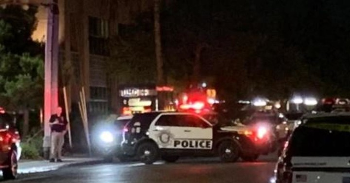 Cop shot in head in one of two police-involved shootings at protests in Vegas