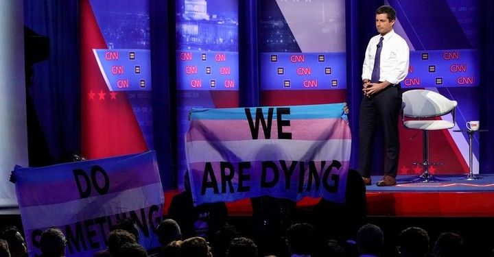 "Buttigieg a ""straight politician in a gay man's body"""