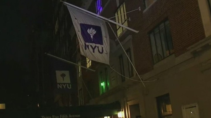 New York University dorm locked down due to coronavirus cases