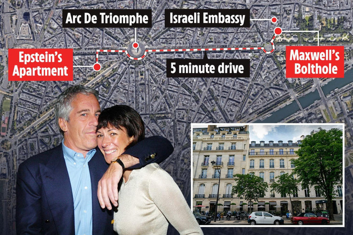 Epstein 'madam' Maxwell hiding out in luxury Paris flat close to pedo's $8.6m pad