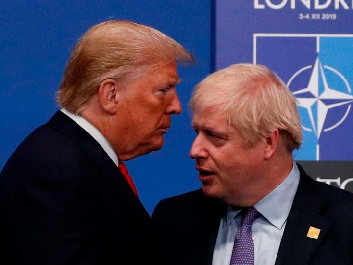 Trump really accused Johnson of betrayal?