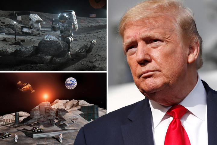 Trump White House 'drafting legal blueprint for moon mining' as part of new deal called Artemis Accords