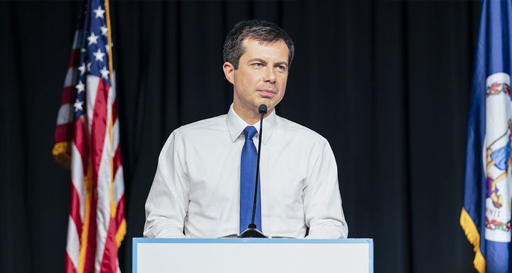 Buttigieg Quietly Drops Out After Realizing He's Been Running for Wrong Party Whole Time