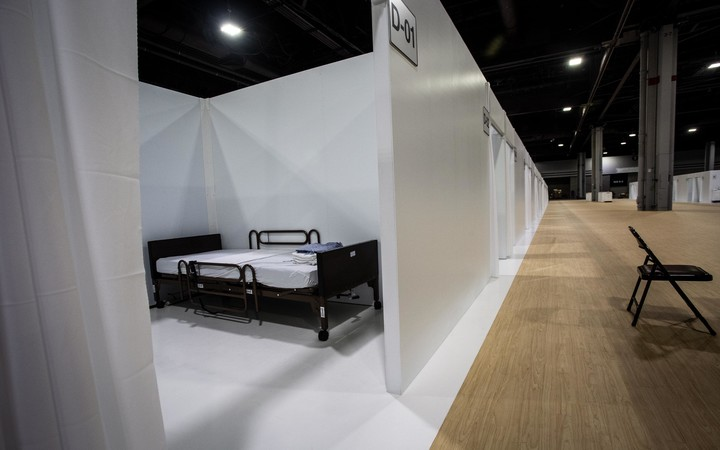 'Surge beds': Virus patients to be sent to giant Georgia convention center