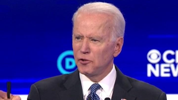 Biden gets emotional