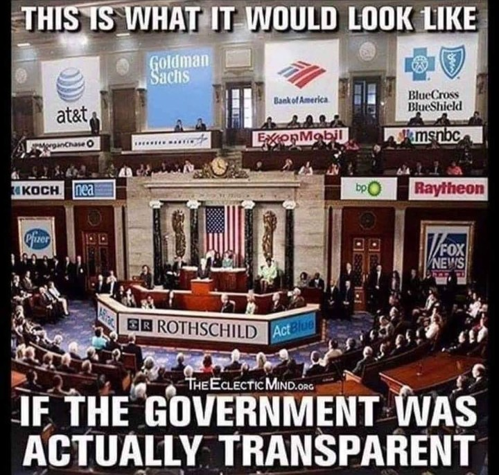 If the government was transparent