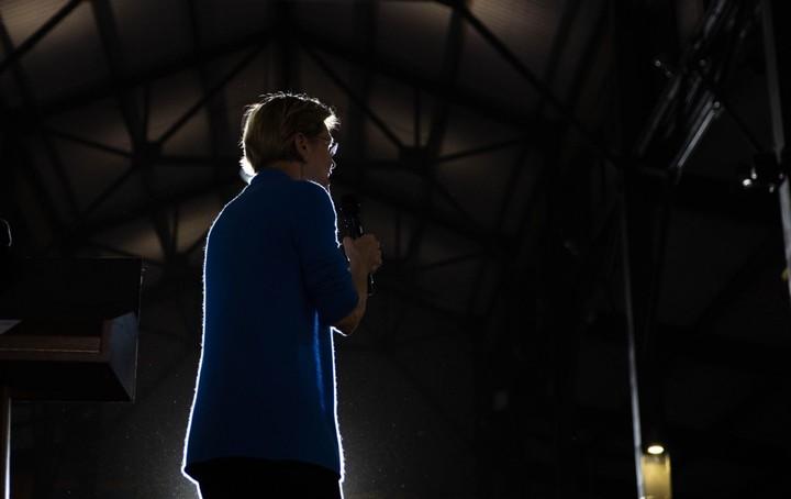 Which choice will Warren make?