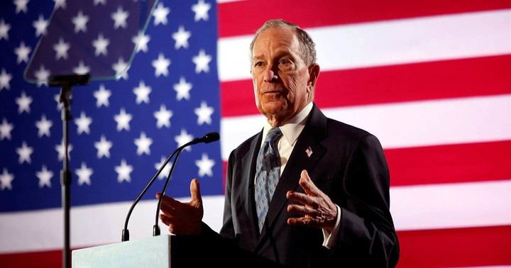 Bloomberg qualified for the next Democratic debate