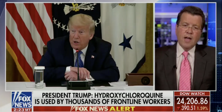 Neil Cavuto Doubles Down on Trump Hydroxychloroquine Criticism: FDA Warning 'Should Suffice the Argument Right There'