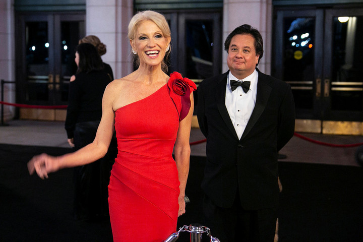 Kellyanne's husband slams Trump after daughter said mom's job 'ruined' her life