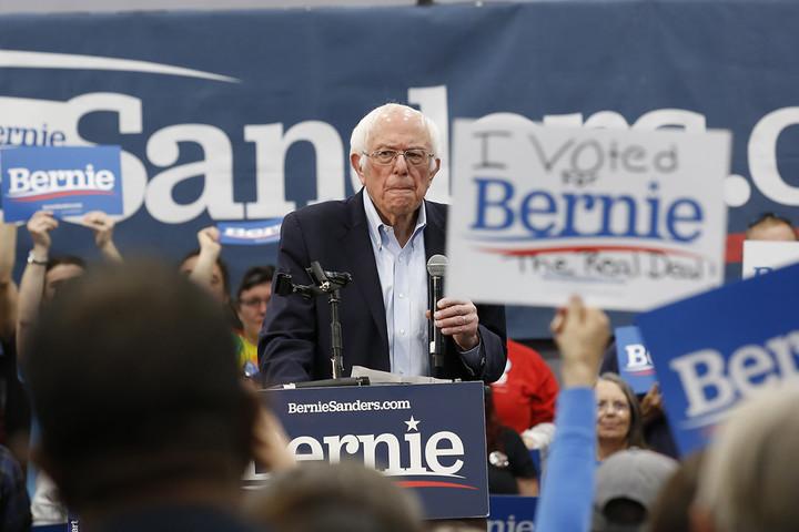 Bernie very close to winning in Nevada
