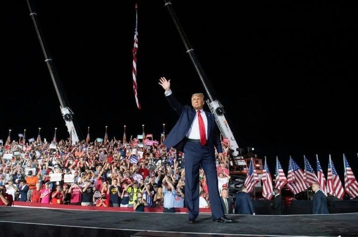 Trump tells fans on post-Covid comeback tour: 'I feel so powerful'