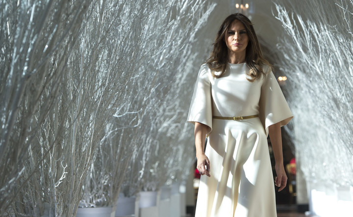 Leaked Calls Reveal Melania Trump's Private War on Christmas: 'Who Gives a F*ck About the Christmas Stuff'
