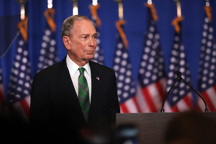 Bloomberg sued by his aides