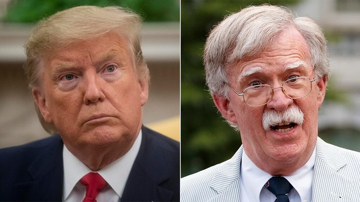 Bolton blasts Trump's Taliban deal