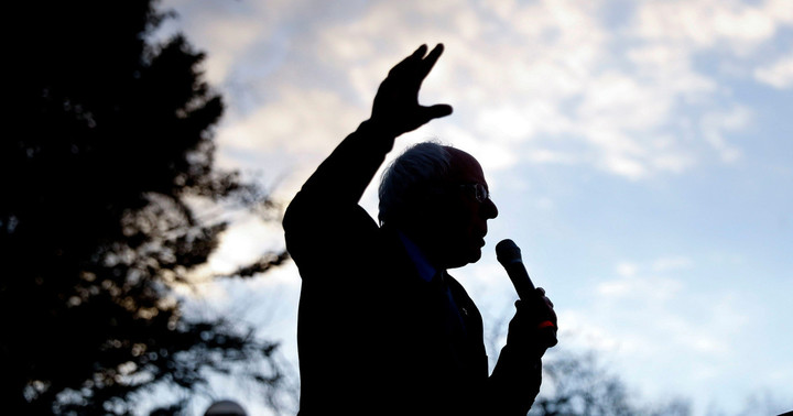 The case for Bernie growing stronger, as the economy weakens