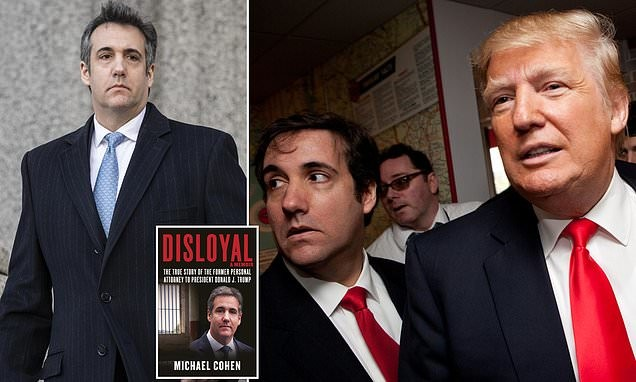 Michael Cohen pens scathing attack on President Trump