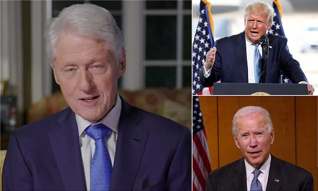Bill Clinton tears into Donald Trump in his convention speech