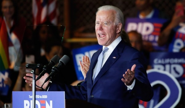A near-miraculous night for Biden