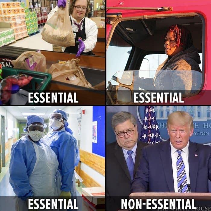 Essential and non-essential