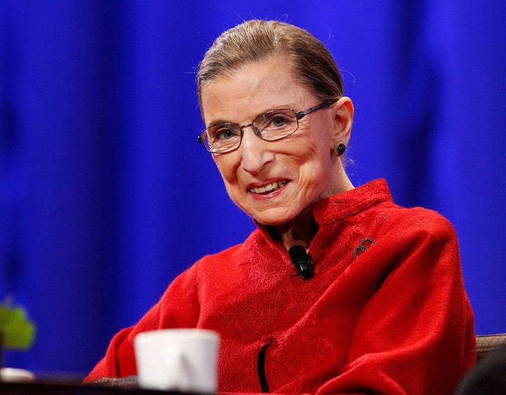 Supreme Court's Ginsburg says she's being treated for liver cancer, but still working 'full steam'