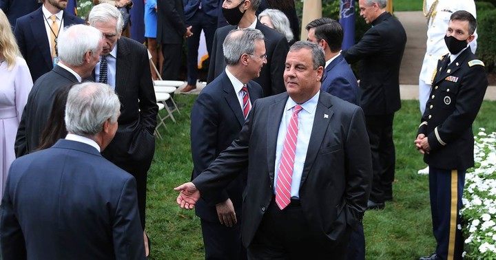 Chris Christie says he was in ICU for 7 days battling Covid-19, urges Americans to wear masks