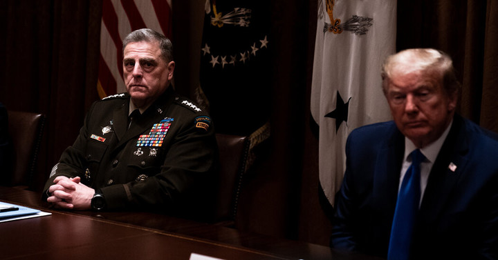 At Pentagon, Fears Grow That Trump Will Pull Military Into Election Unrest