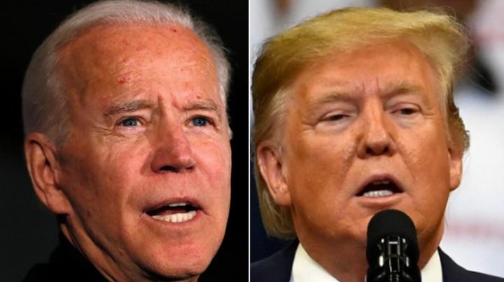 Trump mocks Biden's gaffes