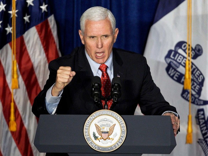 Can Pence be in charge of the US coronavirus?