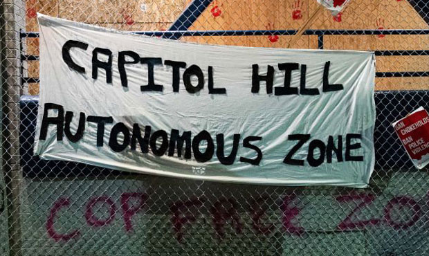 A look inside Seattle's newly-formed 'Capitol Hill Autonomous Zone'