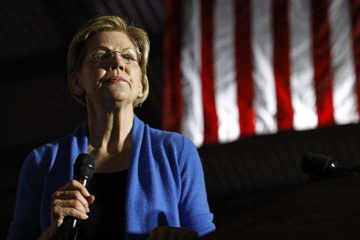Warren on her way out?