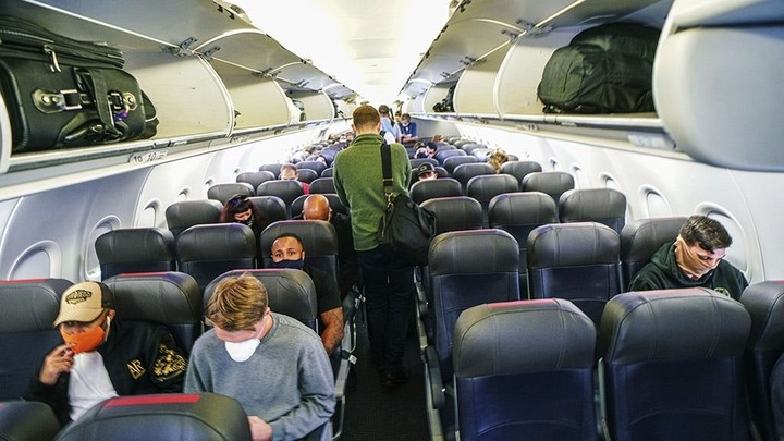 Airlines defend moves to full-capacity flights