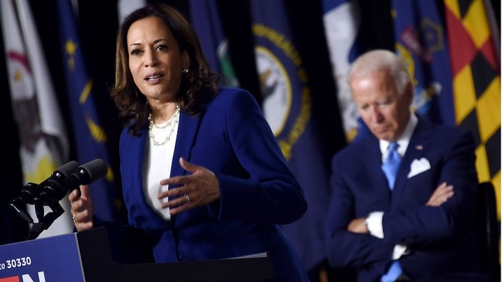 Harris carries positive favorability into VP bid: poll