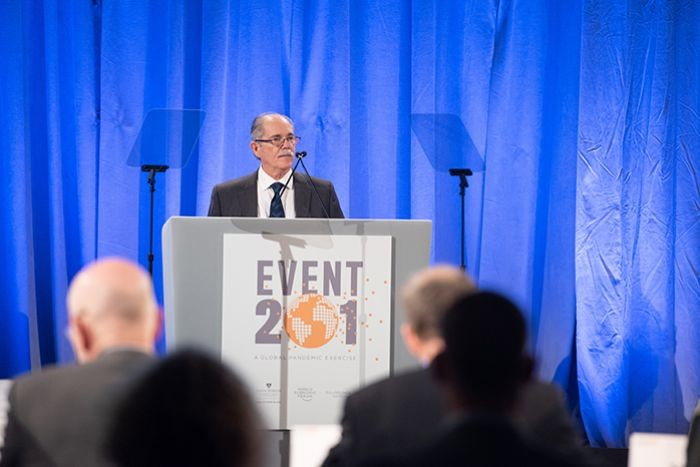 Johns Hopkins and Gates Foundation Hosted Coronavirus Pandemic Simulation Last October
