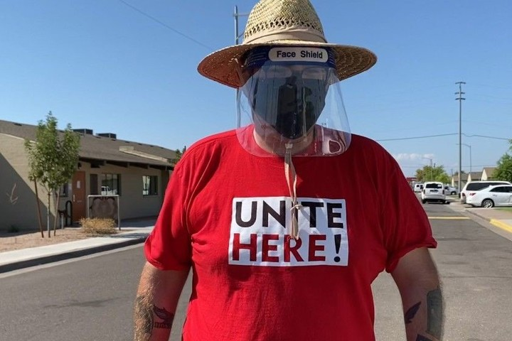 Biden supporters flock from other states to door-knock in Arizona, where it matters