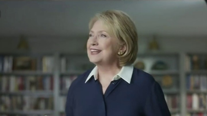 Hillary still obsessed with 2016
