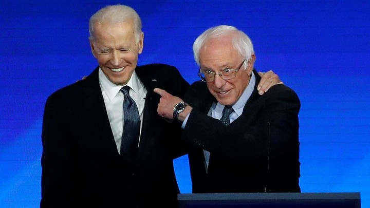 Biden attacks Bernie for the actions of his supporters