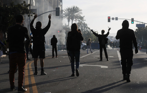 L.A. imposes overnight curfew for entire city as protests continue over killing of George Floyd