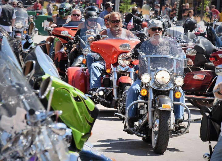 'We cannot stop people': 250,000 are expected at a South Dakota motorcycle rally