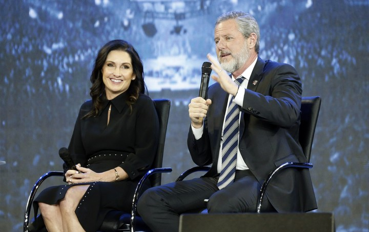 Liberty: Falwell agreed to resign, then reversed course