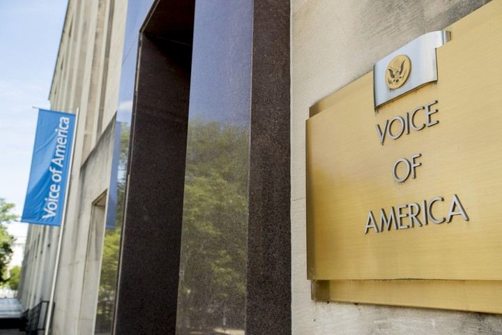 US broadcasting chief fires agency heads in major reshuffle