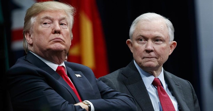 Jeff Sessions stands up to former boss, President Trump, on Twitter