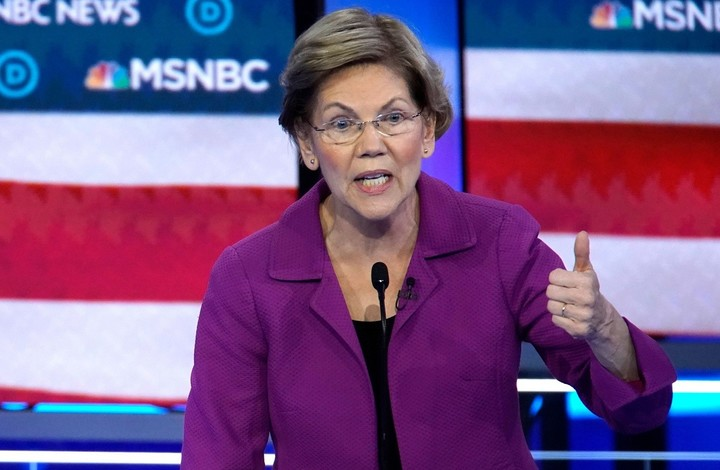 Warren knocked Bloomberg out of the presidential race