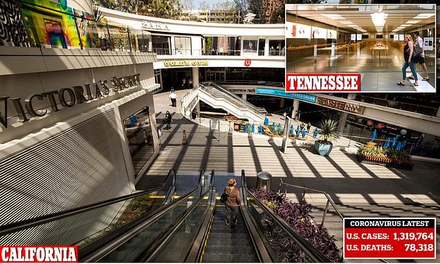 Malls across America resemble ghost towns despite reopening