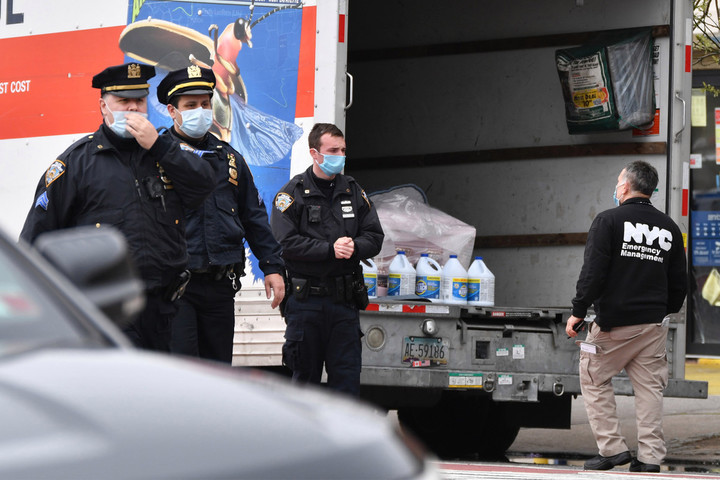 Dozens of bodies found in U-Haul trucks outside NYC funeral home