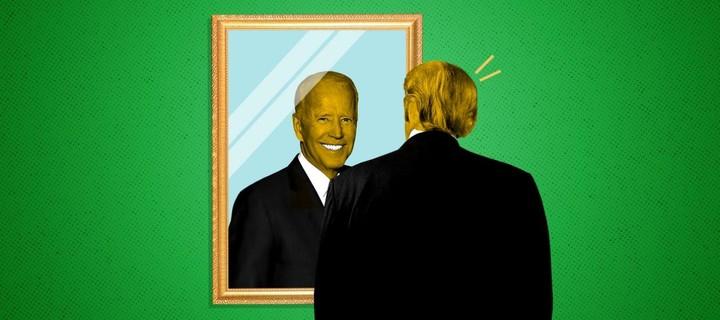 Trump fears Biden