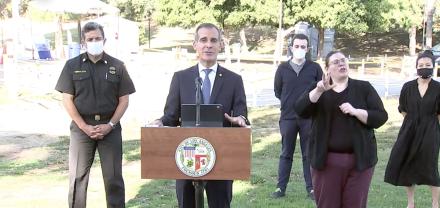 Los Angeles Coronavirus Update: Mayor Eric Garcetti Says DWP Will Shut Off Water And Power At Homes That Throw Large Parties