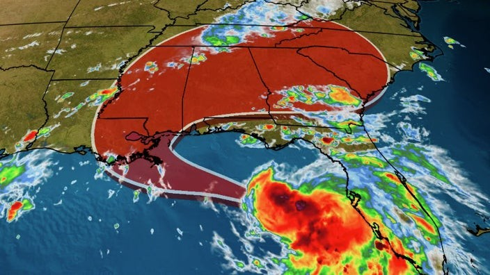 Tropical Storm Sally Expected to Strengthen and Could Strike Louisiana and Mississippi as a Hurricane | The Weather Channel