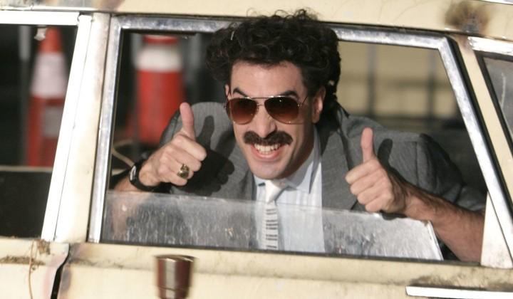 Trump says 'Borat' star is 'a creep': 'I don't find him funny'
